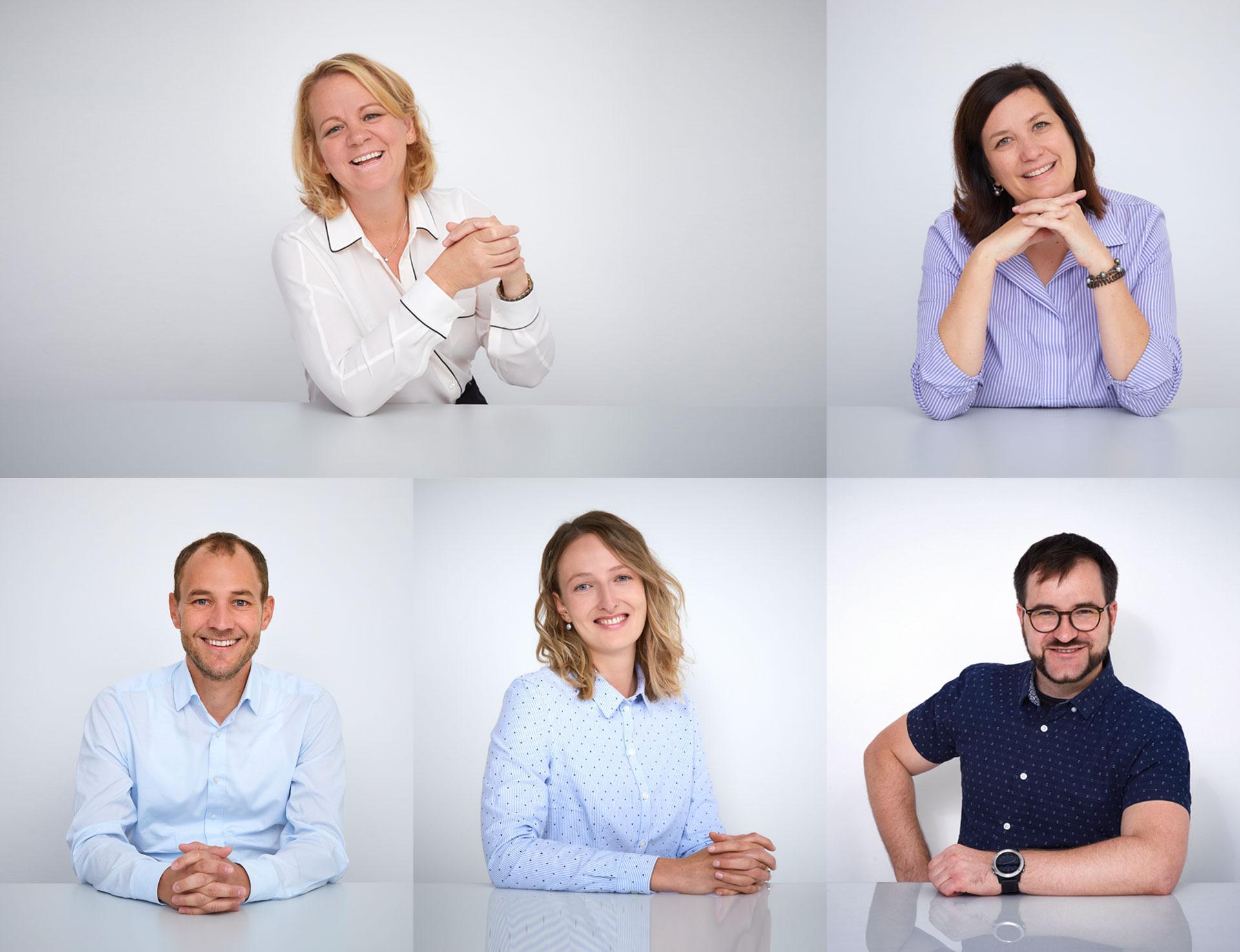 Teammitglieder der DigiTrans GmbH